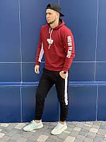 Мужской спортивный костюм Toronto с принтованым рукавом - Турция, 2 цвета