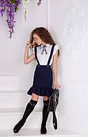 Блузка на девочку с бантом  кл442, фото 1