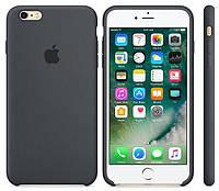 """Оригинальный силиконовый чехол для Apple iPhone  6/6s Soft Touch (4.7"""") Серый (color15)"""