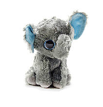 Маленькая мягкая игрушка Глазастик: Слоник (серый)