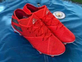 Бутсы для футбола Adidas Nemeziz 19.1 (адидас немезиз), фото 2