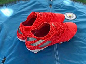 Бутсы для футбола Adidas Nemeziz 19.1 (адидас немезиз), фото 3