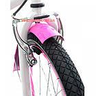 Детский велосипед Azimut Beach 20 дюймов розовый, фото 4