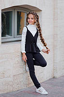 Костюм на девочку жилетка и брюки  кл382, фото 1