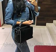 Женская кожаная сумка черная Топ продаж кожаные сумки женские