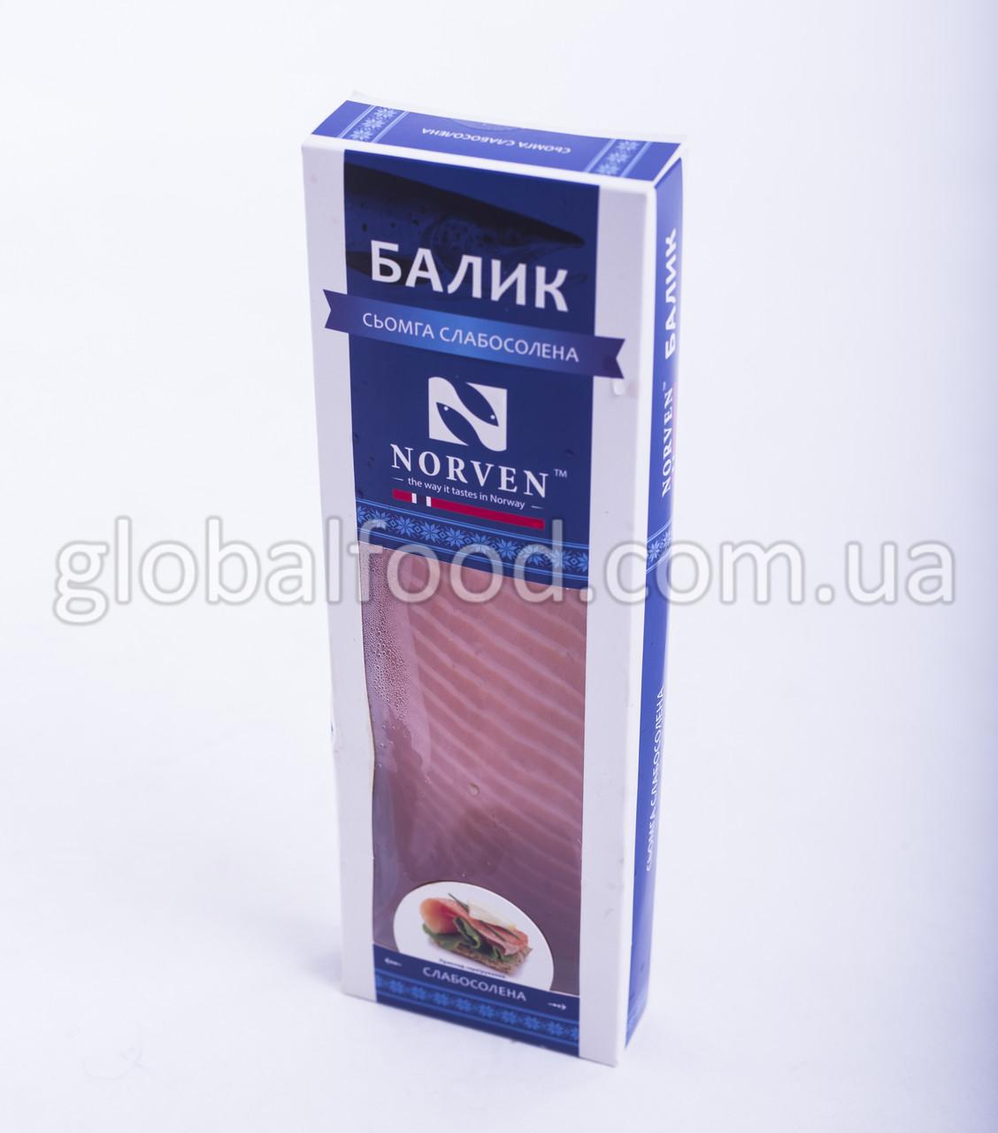 Лосось Балык (Сёмга) слабосолёный  вакуум порционный (0,300 г.)