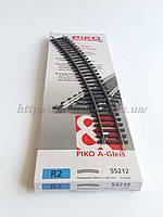 PIKO A-Gleis 55212  Рельсы радиусные R2 ( радиус кривой 421,88мм 30° / 1:87, фото 1