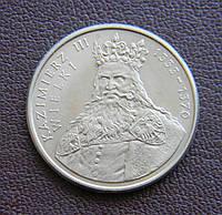 Польша 100 злотых 1987 Казимир III, фото 1