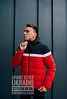 Мужская куртка трёх цветная