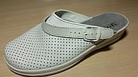 Сабо белые женские медицинские рабочая обувь оптом