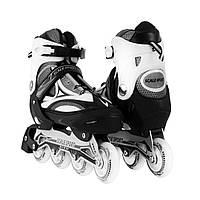 Роликовые коньки Scale Sports XL (41-44). Черно-Белые