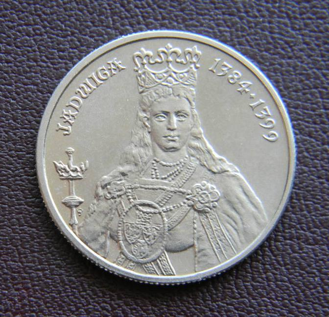Польша 100 злотых 1988 года короли Ядвига