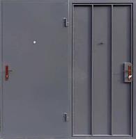 Металлическая входная - техническая  дверь сталь 2мм. Без Замка