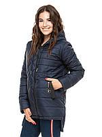 Куртка жіноча подовжена з капюшоном, фото 1