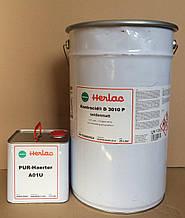 Паркетный лак Контрацид Д3010Р Herlac, шелковисто-матовый (комплект 27,5 л без разбавителя)