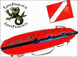 """Буй LionFish.sub """"Торпеда"""" для подводной охоты, фото 10"""
