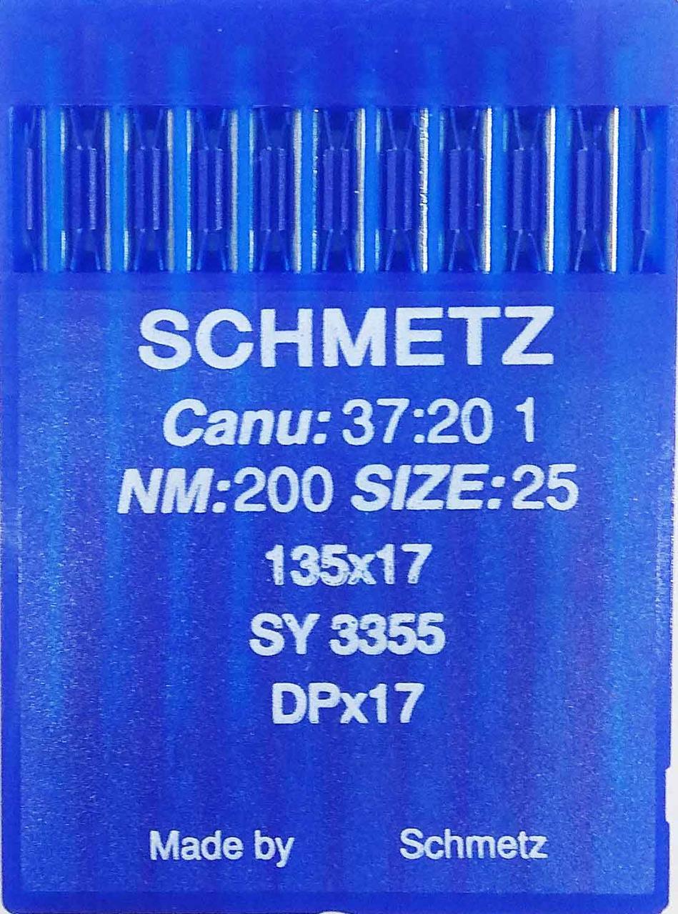 Иглы Schmetz DPх17 №200 для беспосадочных промышленных машин