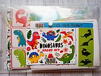 """Набор игр """"Динозавры"""", фото 1"""