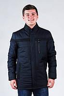 Мужская осенняя длинная куртка (демисезон) 48-64р.