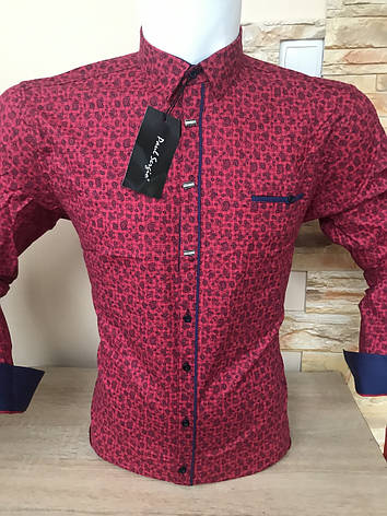 Акция!!!Рубашка длинный рукав Paul SERGIO, фото 2