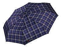 Синий зонт в клетку  H.DUE.O (полный автомат), арт. 204 BL
