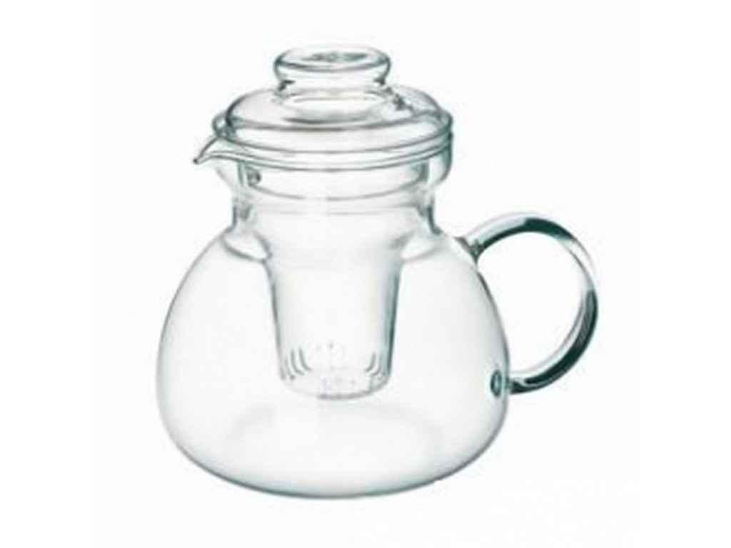 """Чайник стеклянный заварник 1,5 литра Color Marta s3243/F """"SIMAX"""""""