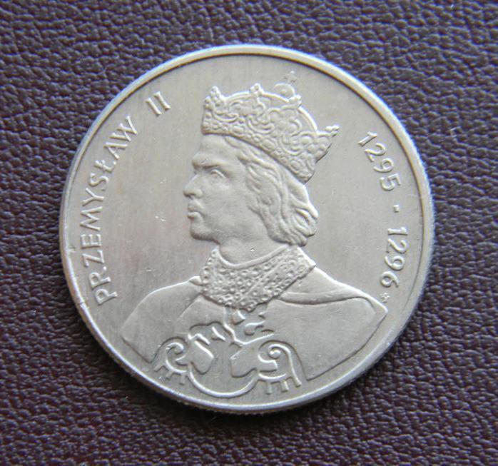 Польша 100 злотых, 1985г. Польские правители - Король Пшемыслав II