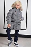 Детская куртка для мальчика Freedomday Италия IFRJB7002N-800 Серый