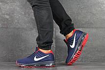 Чоловічі кросівки Nike Air Max 2017,темно сині з червоним, фото 3