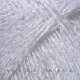 Пряжа YarnArt Diamond Белый