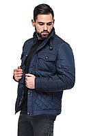 Мужская демисезонная классическая стеганая куртка, фото 1