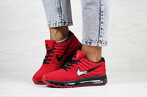 Женские кроссовки Nike air max 2017,красные, фото 2