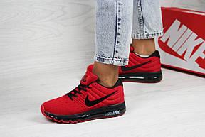 Женские кроссовки Nike air max 2017,красные, фото 3