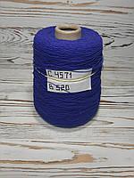 100% Хлопок Итальянская Пряжа в бобинах для машинного и ручного вязания, фото 1