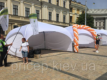 Палатка шатёр. Универсальный подход к отдыху и проведению мероприятий