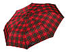 Червоний парасолька в клітку H. DUE.O (повний автомат), арт. 204 RD