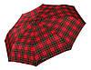 Красный зонт в клетку  H.DUE.O (полный автомат), арт. 204 RD