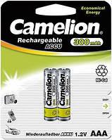 Аккумулятор Camelion R 03  ААА 300 mAh Ni-CD бл 2шт