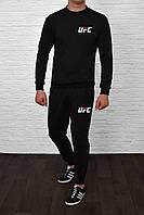 Осенний комбинированный мужской спортивный костюм, чоловічий спортивний костюм UFC, Реплика