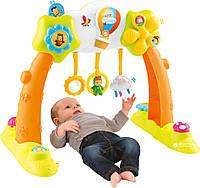 Развивающий детский игровой центр 2в1 Smoby Cotoons Арка развлечений 110221