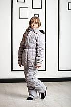 Детская куртка для девочки Верхняя одежда для девочек Pezzo D'oro Италия S06 K61005 Серый