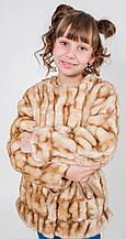 Детская куртка для девочки Верхняя одежда для девочек SILVIAN HEACH Италия MDJI6187PL Бежевый