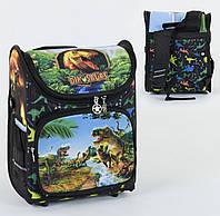 Рюкзак школьный ортопедический С 36171, твердый каркас, 3D принт