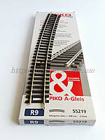PIKO A-Gleis 55219  Рельсы радиусные R9 c радиусом кривой 907,97 мм 30° / 1:87, фото 1