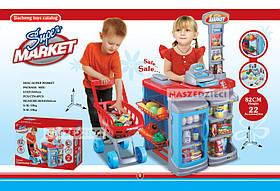 Игровой набор Супермаркет с тележкой Play 668A