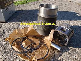 Поршневая Паз, 523 двигатель (гильза+поршень+палец+кольца поршневые) производитель Мотордеталь, Кострома