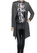 пальто букле з капюшоном, фото 3