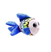 Маленькая мягкая игрушка Глазастик: Рыбка  (синяя)