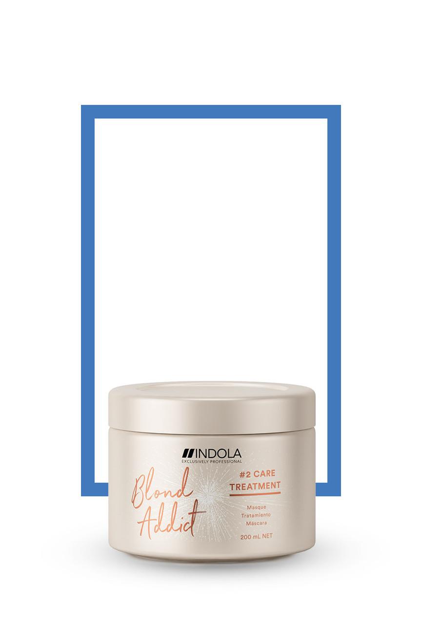Маска для всех типов светлых волос Indola Professional Blond Addict Treatment  200 мл