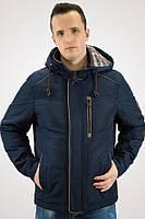 Мужская куртка темно-синяя демисезонная осенняя (48-56р)
